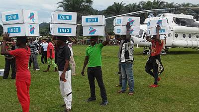 3,900 tonnes of election materials distributed nationwide in the DRC