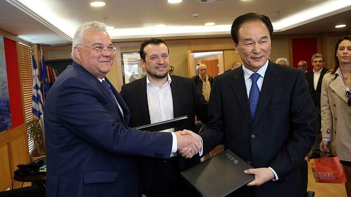 Υπογραφή συμφώνου συνεργασίας των πρακτορείων ειδήσεων Ελλάδας και Κίνας