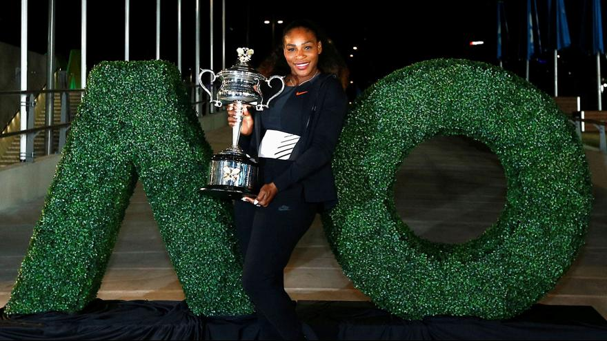 Tennis superstar Serena Williams announces pregnancy