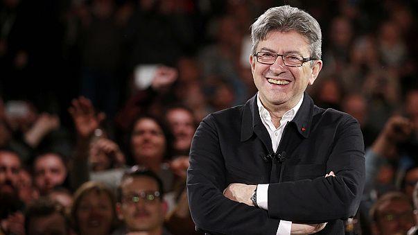 Melénchon: un veterano de la izquierda francesa convertido en sorpresa de la campaña