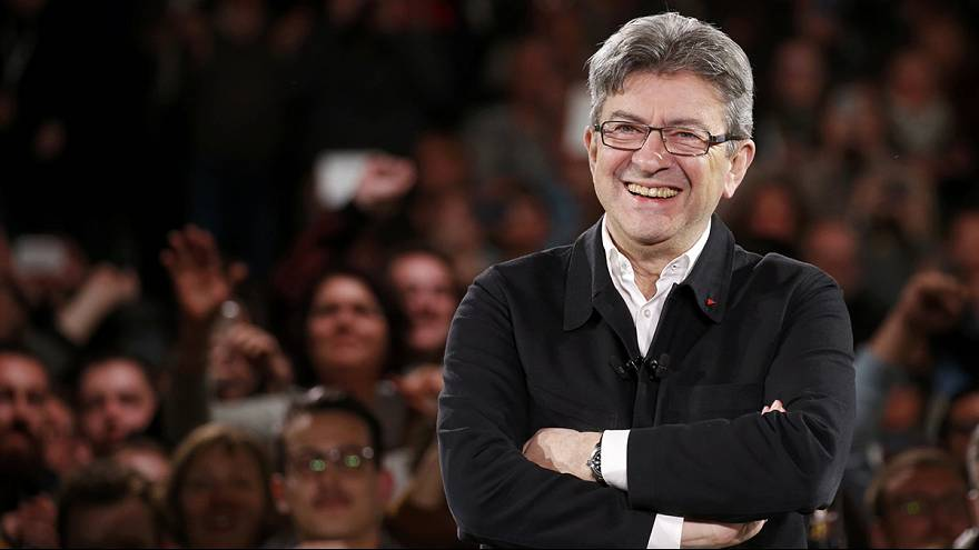 "Melenchon, il ""social"" candidato all'Eliseo"