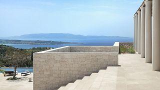 Griechische Antike und Luxus in Europas teuerstem Hotel