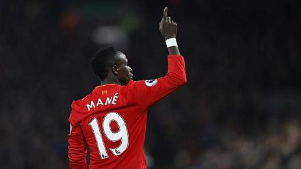 Senegal's Mane is the only African in the PFA 'Team Of The Year'