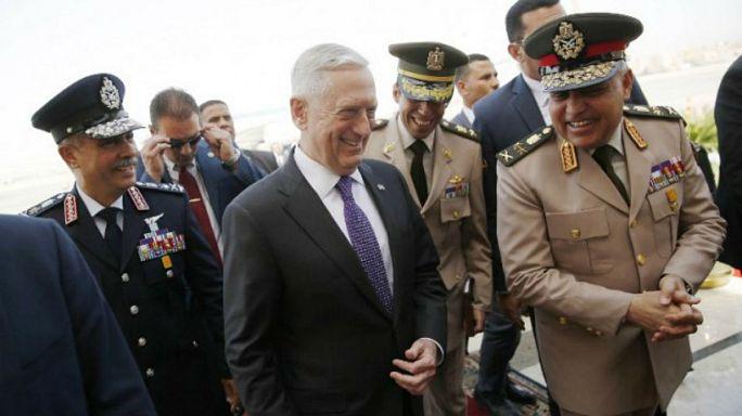 أبعاد زيارة وزير الدفاع الأمريكي جيمس ماتيس إلى القاهرة
