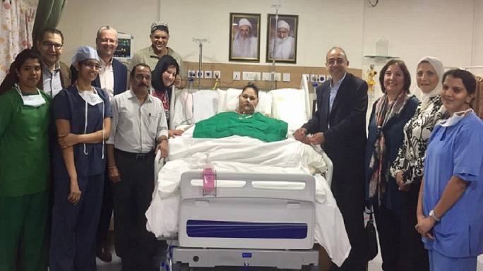 Egypt: 'World's heaviest woman' loses half her weight after surgery