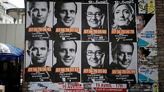 اخبار از بروکسل؛ رقابت ۴ نامزد برای رفتن به دور دوم انتخابات فرانسه