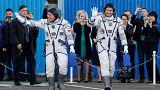 Estação Espacial Internacional já recebeu novos astronautas