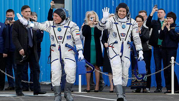 Sikeresen dokkolt a Nemzetközi Űrállomáshoz a Szojuz