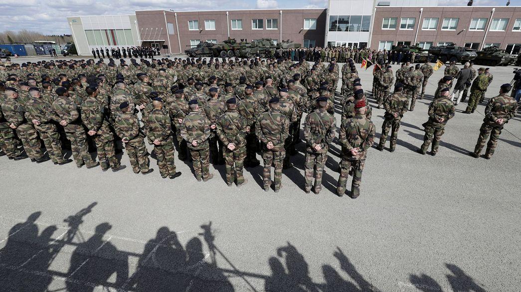 مانور نظامی نیروهای ناتو در شرق اروپا