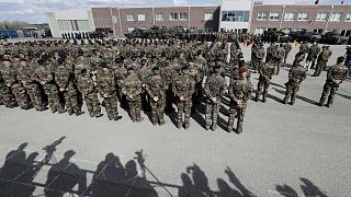 Operativo en Estonia un batallón de combate de la OTAN