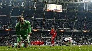 يوروباليغ: مانشيستر وليون يحجزان بطاقة التاهل إلى الدور نصف النهائي