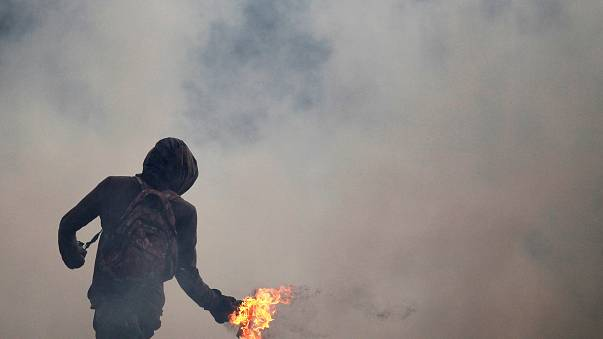 La oposición se concentra por segundo día consecutivo en Caracas