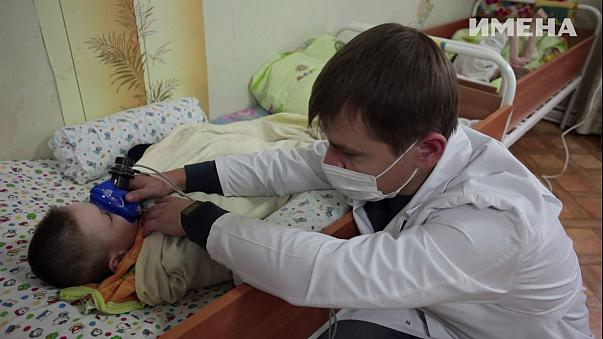 Fome com comida em orfanatos da Bielorrússia
