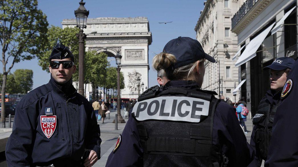 Polícia francesa à procura de um segundo suspeito do ataque nos Campos Elísios