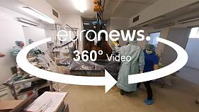 A 360° visit to the horse hospital