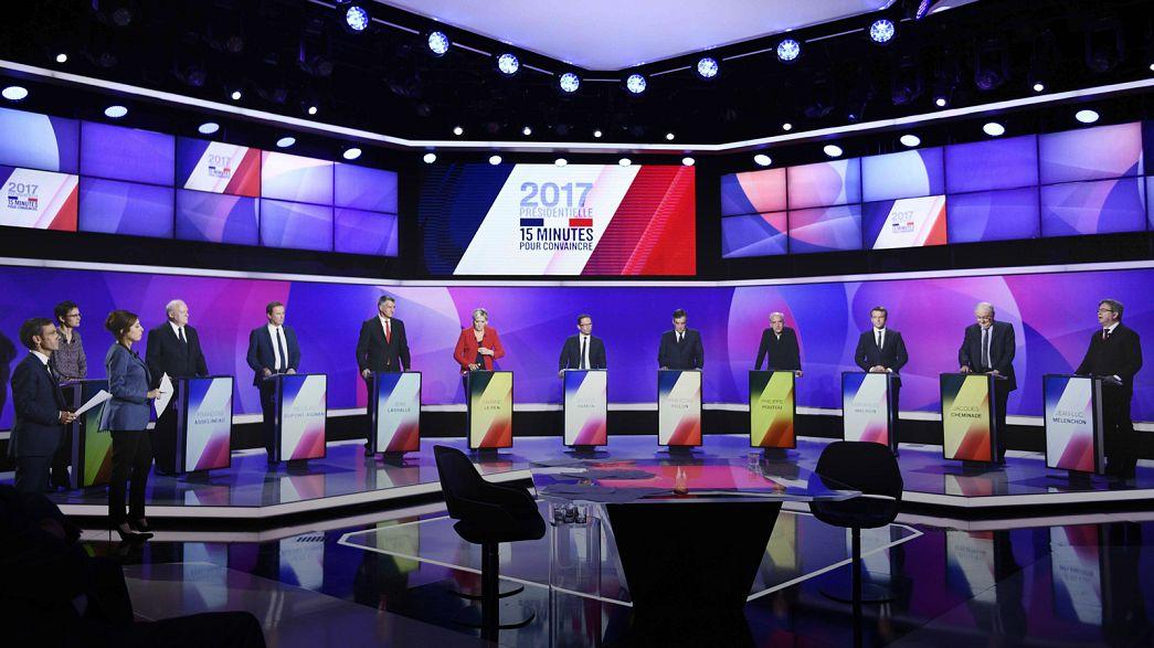 Attentato di Parigi, le reazioni dei candidati all'Eliseo