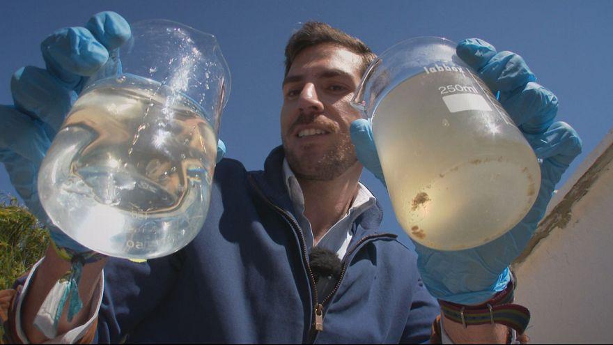 Una segunda vida para las aguas residuales a coste energético cero