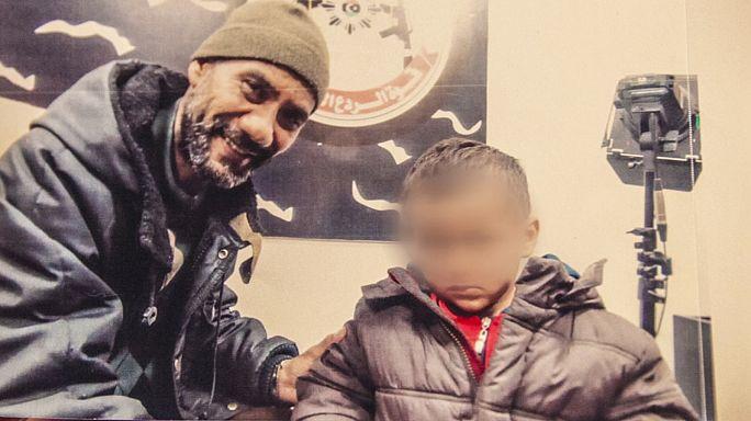 Tamim, un huérfano del Dáesh encarcelado en Libia