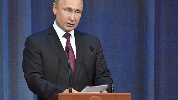 Image: Vladimir Putin attends events marking 10th anniversary of Church Cou