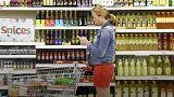 Объем розничных продаж в Великобритании сократился