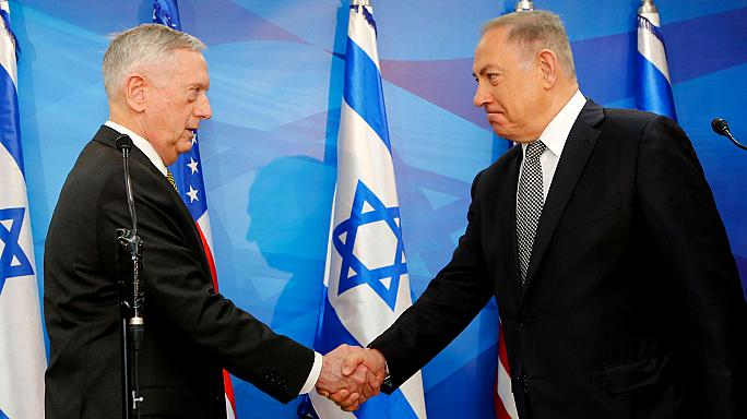 Le chef du Pentagone en visite en Israël