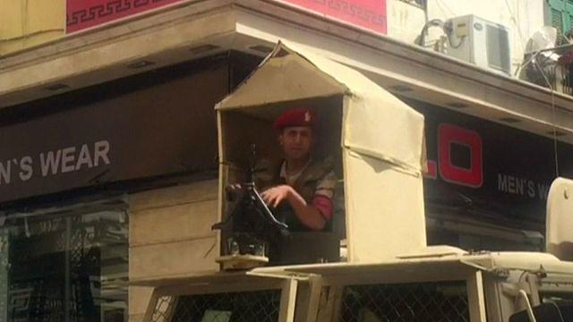 جدلٌ على الأنترنت بشأن فيديو لجنود مصريين مزعومين في سيناء
