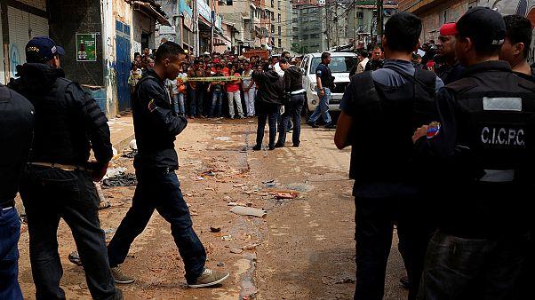 Once muertos en episodios violentos en Caracas