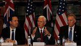 """Pence garante que os EUA vão honrar o """"pior dos acordos"""" com a Austrália"""