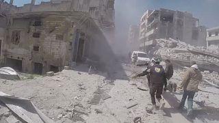 EUA rejeitam russos e iranianos no inquérito aos ataques químicos na Síria