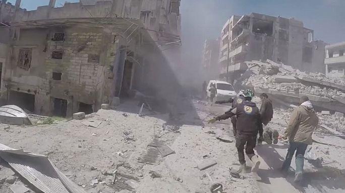 Szarin gázt vetettek be hónap elején Szíriában