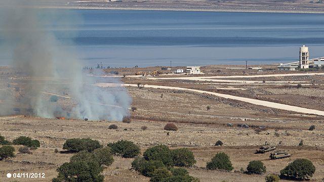إسرائيل تقصف مواقع داخل سوريا ردا على سقوط قذائف في الجانب المحتل من الجولان