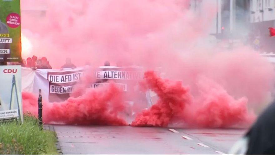 """""""المناهضون للفاشية"""" في ألمانيا يتظاهرون ضد مؤتمر حزب """"البديل"""" الشعبوي"""