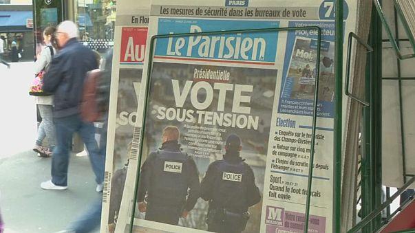 Presidencias em França: Dia de reflexão sob fortes medidas de segurança