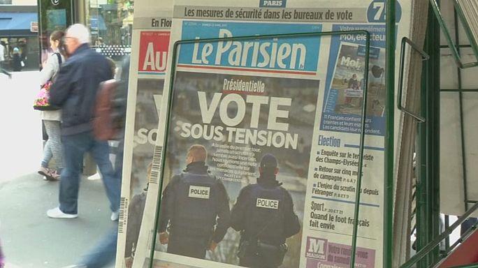 Todo listo en Francia para la primera vuelta de las elecciones presidenciales