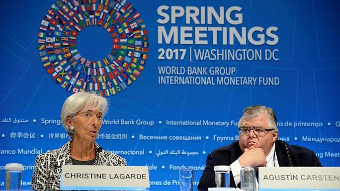 IWF-Frühjahrstagung: Nur verhaltene Warnung vor Protektionismus
