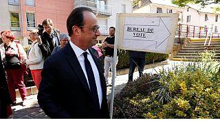 France: Hollande votes in cliffhanger as Henin mayor predicts a hopeful far-right win