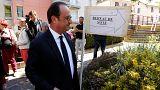 Το εκλογικό του δικαίωμα άσκησε ο Φρανσουά Ολάντ