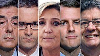 Frankreichs Präsidentschaftskandidaten gehen wählen