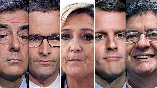 Leading candidates in French election get in early to vote
