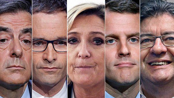 Fransız adaylar oylarını kullandı