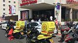 إصابة أربعة إسرائيليين بجروح طفيفة طعنا في تل أبيب