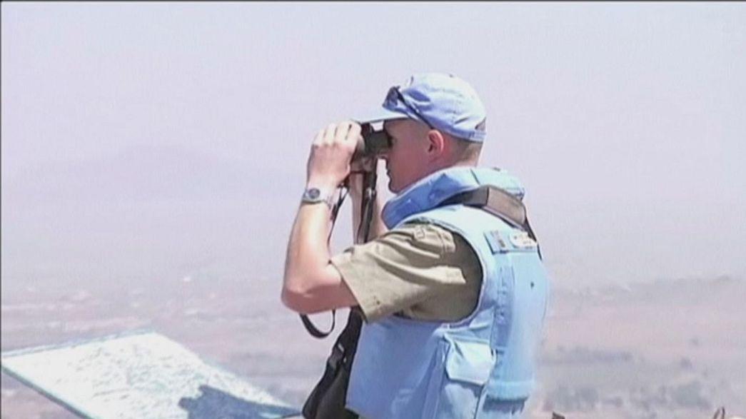 Medio Oriente: attacco di Israele sulle alture del Golan