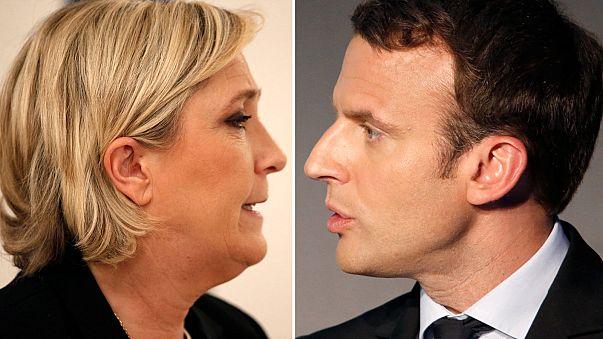 الانتخابات الرئاسية الفرنسية - إيمانويل ماكرون ومارين لوبان الى الدورة الثانية