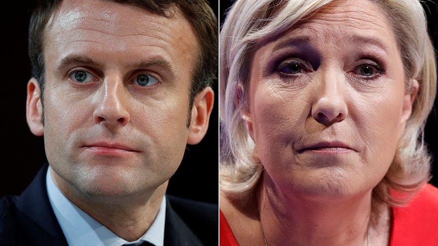 تقدم المستقل ايمانويل ماكرون واليمينية المتطرفة مارين لوبان في الدورة الأولى من الانتخابات الرئاسية الفرنسية