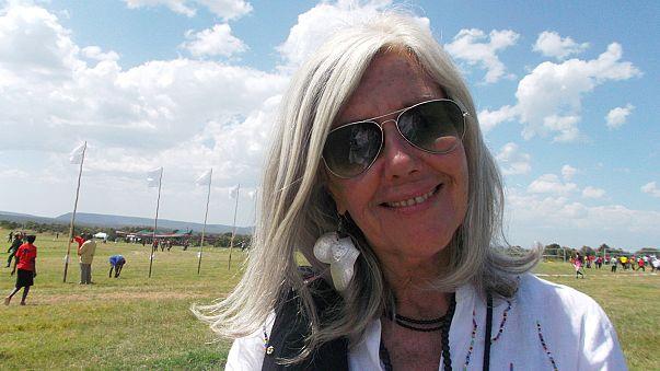 Kuki Gallmann baleada na propriedade onde vive no Quénia