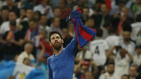 Vitória a ferros para o Barça num Clássico de alta tensão (2-3)