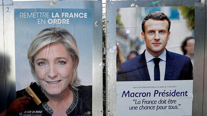 Duel Le Pen - Macron pour le second tour de la présidentielle