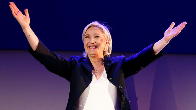 Le Pen celebrates 'historic moment' in French election