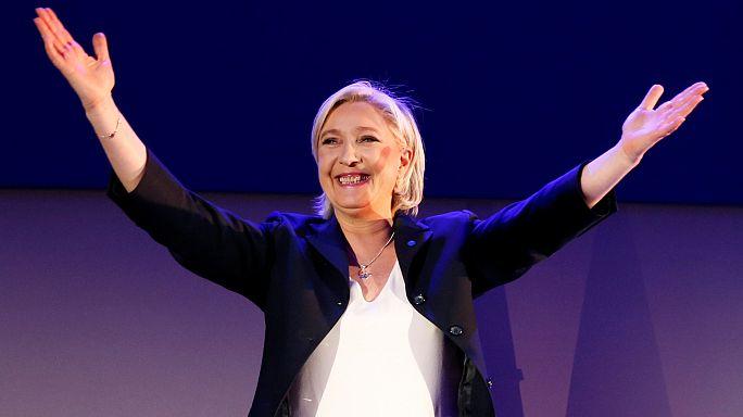 """Marine Le Pen: """"soy la candidata del pueblo"""""""
