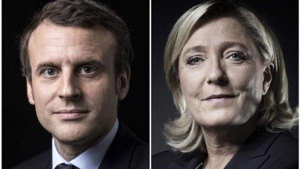ماكرون ولوبين إلى الدور الثاني من الانتخابات الرئاسية الفرنسية